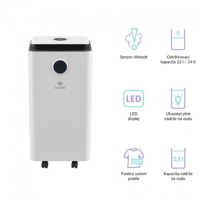 TrueLife AIR Dehumidifier DH5 Touch párátlanító