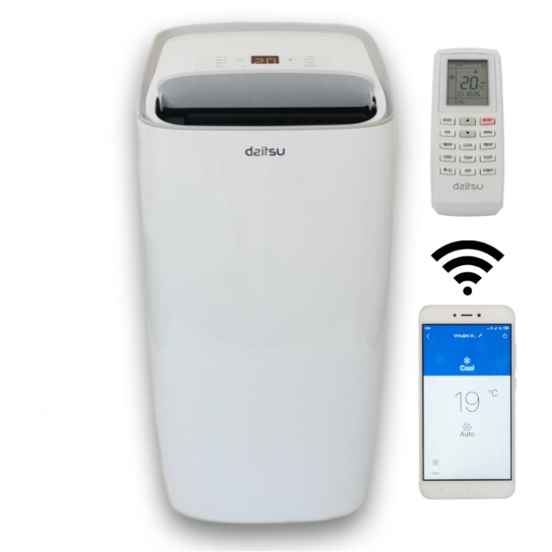 DAITSU APD 12 HX PREMIUM Wi-Fi mobil klíma