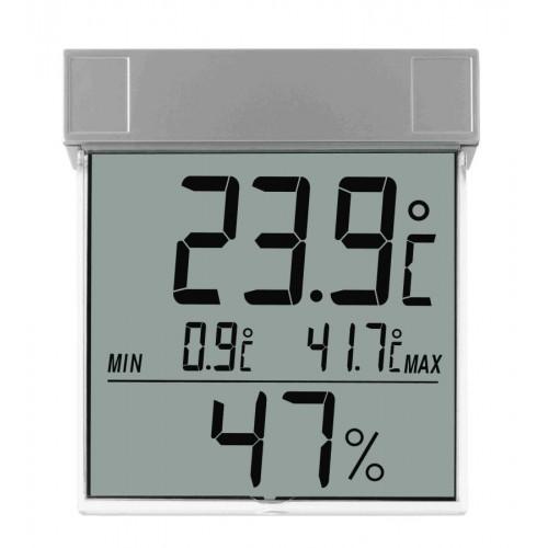 TFA 30.5020 páratartalom-mérő ablakba (kültéri használatra is)