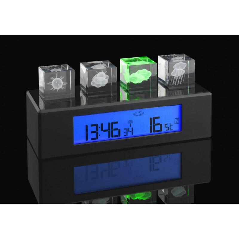 TFA 35.1110 CRYSTAL CUBE időjárás állomás