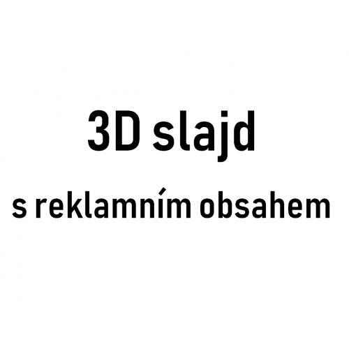 3D slide reklámtartalommal