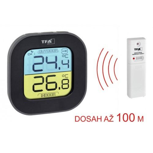 TFA 30.3068.01 FUN vezeték nélküli hőmérő