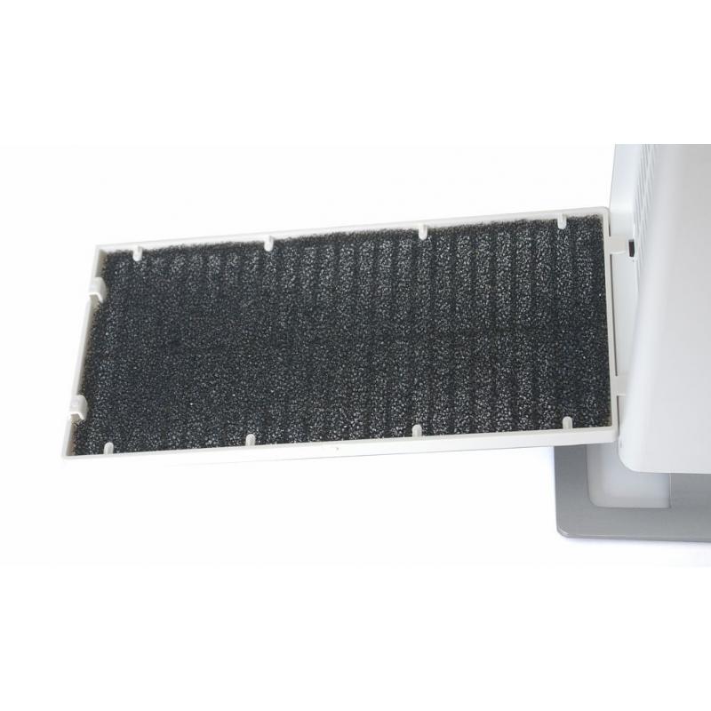 StadlerForm ANNA kerámia hősugárzó - fekete
