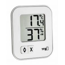 TFA 30.5026.01 MOXX digitális hőmérő páratartalom-mérővel - fehér