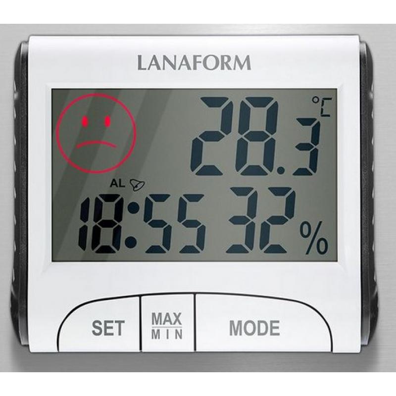 Digitális hőmérő és nedvességmérő - Lanaform LA120701