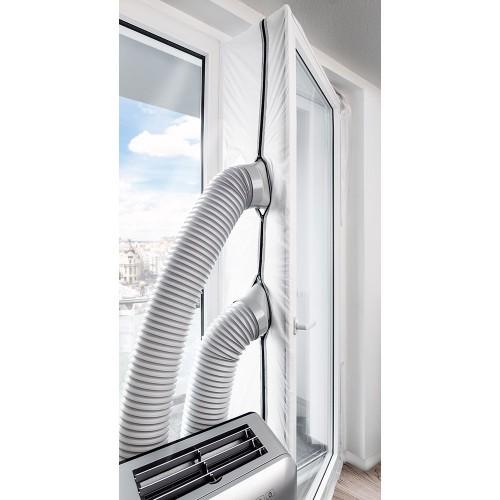 Szigetelés az erkélyajtóba mobil légkondicionálókhoz